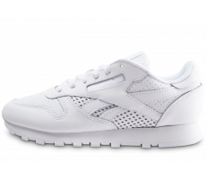 Chaussures Reebok Classic Leather blanche femme