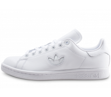 Chaussures adidas Stan Smith Trèfle triple blanc femme