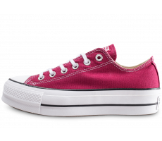 Chaussures Converse Chuck Taylor All Star Lift bordeaux femme