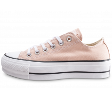 Chaussures Converse Chuck Taylor All Star Lift beige femme