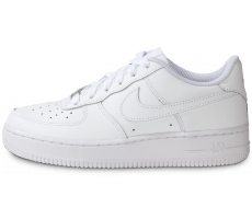 reputable site 30026 a7493 Chaussures Nike Air Force 1 junior blanche