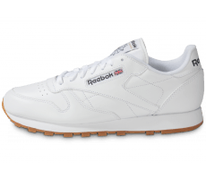 Chaussures Reebok Classic Leather Blanche Gum