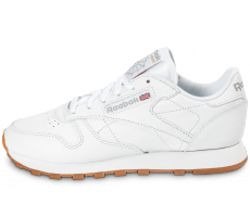 Chaussures Reebok Classic Leather W Gum blanche