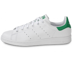 the best attitude 08b34 e938a Chaussures adidas Stan Smith blanche et verte