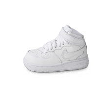 Chaussures Nike Air Force 1 Mid Blanche