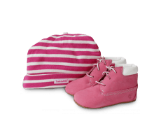 Chaussures Timberland Pack Boots 6-inch Crib Bonnet Rose