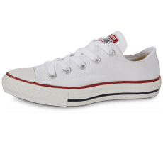 26ee04fc8cccc Chaussures Converse Chuck Taylor All Star enfant basse blanche