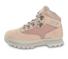Chaussures Timberland Euro Hiker Mid Enfant rose