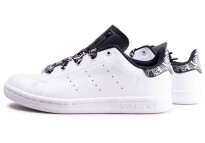 official photos 01e4a 95d2a Stan Smith Bandana noir et blanc enfant