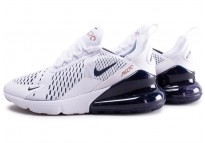 separation shoes 99e83 0a024 Air Max 270 blanc bleu marine junior